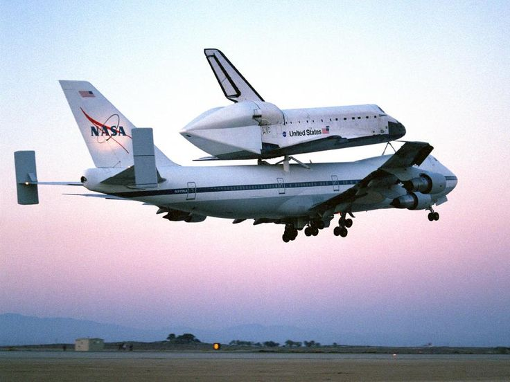 Space shuttle Endeavour mounted atop one of NASA's ...
