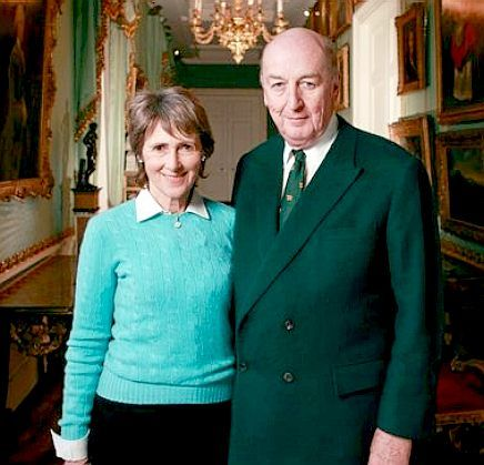 Peregrine Cavendish is the 12th Duke of Devonshire and custodian of Chatsworth House, coming up for the big 70 in 2014. He is pictured above with his wife ...