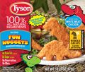Did you know we offer Tyson® Fun Nuggets with whole grain breading? Kids love 'em!