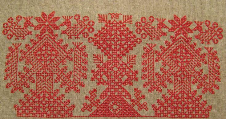 Мастер-класс по русской традиционной вышивке и народному костюму.