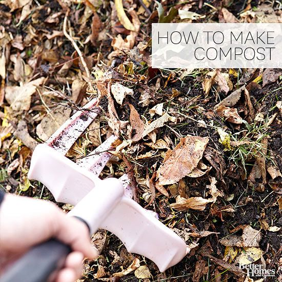 Make your garden grow better the natural way with composting.