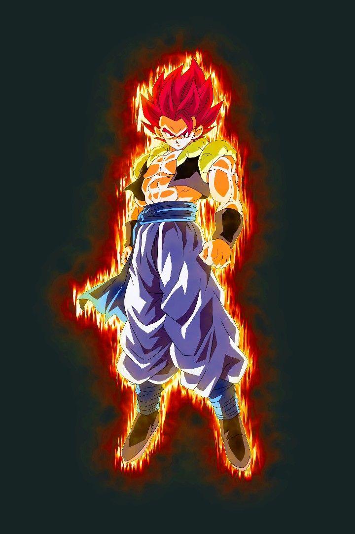 Gogeta Super Saiyan God Dragon Ball Super Anime Dragon Ball Super Dragon Ball Art Dragon Ball Super Goku