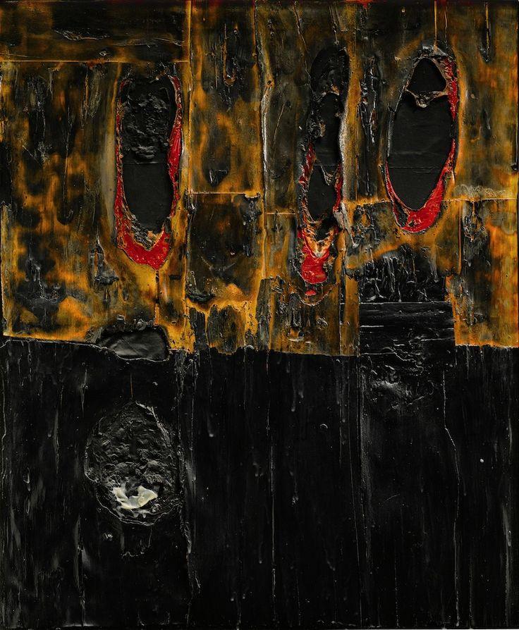 COMBUSTIONE LEGNO - Burri A. - 1957