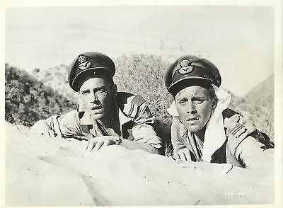 "DIRK BOGARDE & JOHN FRASER in ""The Wind Cannot Read"" Original Vintage Photo 1958"