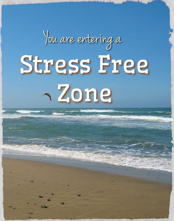 You are entering a Stress Free Zone! @twogonecoastal