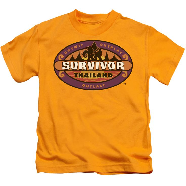 Survivor Thailand Gold Kids T-Shirt