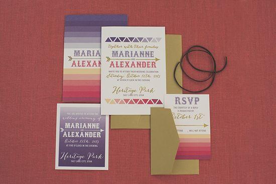 Native American Wedding Invitations: 55 Best Images About Wedding Invitations On Pinterest