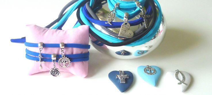 Mooie bedels voor aan een elastische armband of maak een leuke ketting! Christelijke sieraden van Adaja!