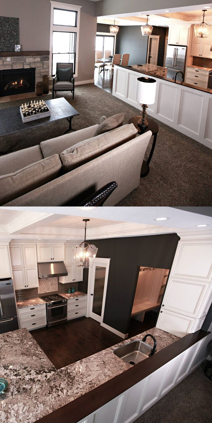 Idea On How To Take Down A Wall Between Kitchen/ Living