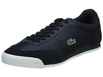 Lacoste Romeau Put Mens 7-30SPM0033-02H Black Shoes Sneakers Trainers Size 9