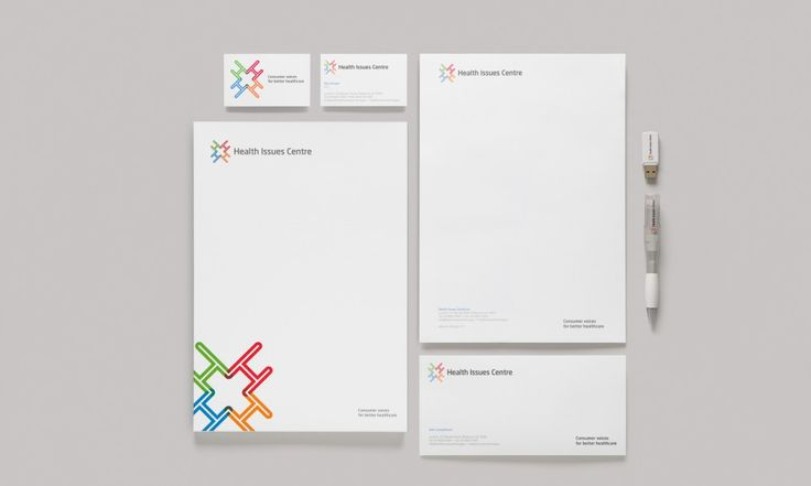 HIC Brand Identity design by Raine & Makin