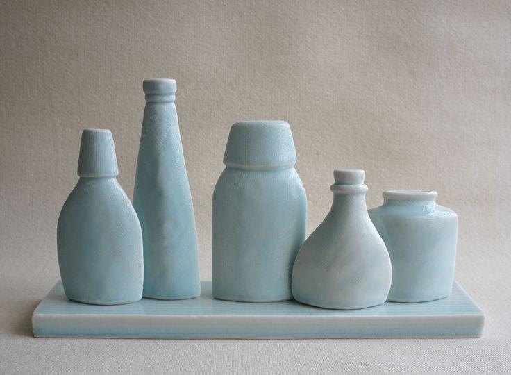 """Still Life """"5 Bottles"""" Maggie Williams 2016"""