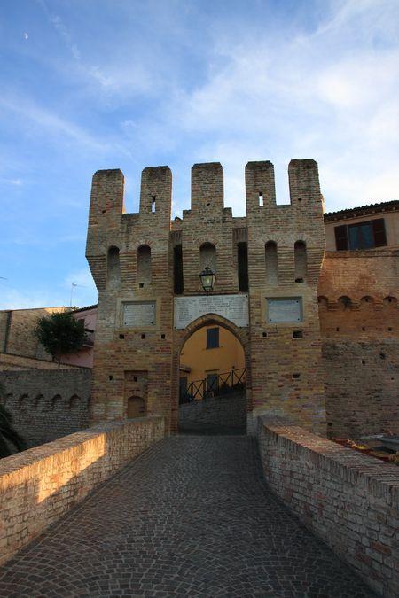 Castel d'Emilio, Marche, Italy-   Photo by Celo Risi -- Borgo medioevale Marchigiano- Medieval town of Marche