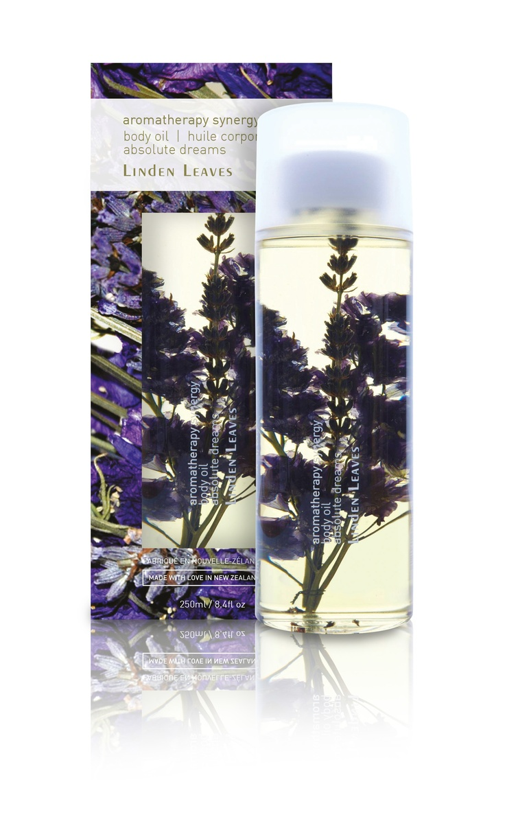 Linden Leaves Aromatherapy Synergy Absolute Dreams Body Oil - organic Avocado and Rosemary oils blended with Sweet Almond and Apricot Kernel oils for deeply hydrating, non-greasy moisturising.  Scented with a subtle infusion of lavender, cedarwood, sandalwood and orange. Available at www.lindenleaves.com