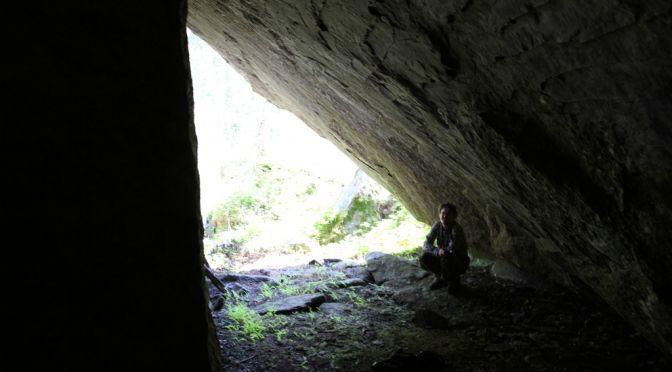 Cave of Karhuniemi in Jäppilä. #cave #Jäppilä