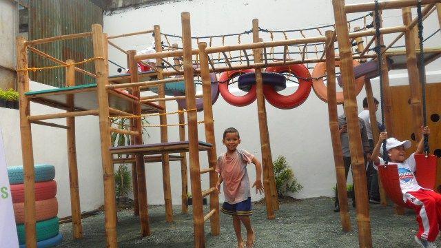bamboo playground - Google Search