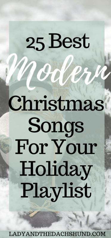 25 Modern Christmas Songs for Your Holiday Playlist & How to Get Them