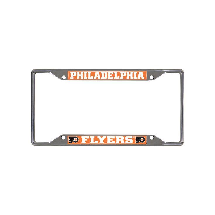 Philadelphia Flyers License Plate Frame, Multicolor