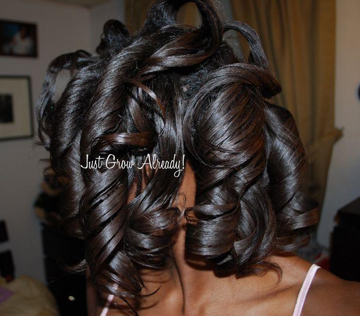 Best 25 roller set ideas on pinterest roller set hairstyles best 25 roller set ideas on pinterest roller set hairstyles big hair rollers and roller set natural hair pmusecretfo Images
