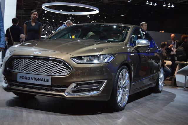 Ford Vignale front