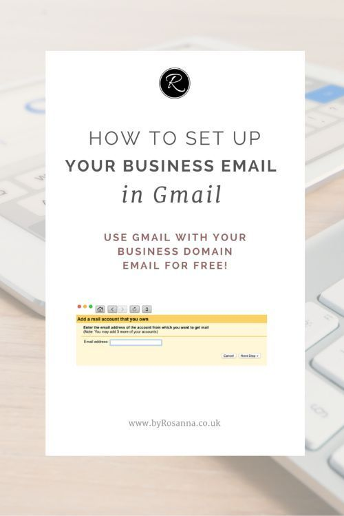 How to set up your business email in Gmail so you can read and send emails from…