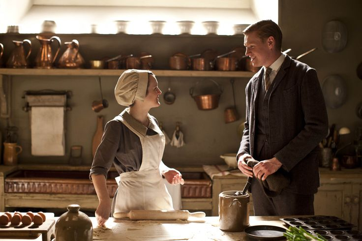Alfred and Daisy in Downton Abbey Series 4, Part 5