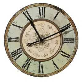 Oversized Victorian Wall Clock