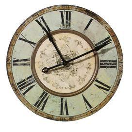 Oversized Victorian Wall Clock