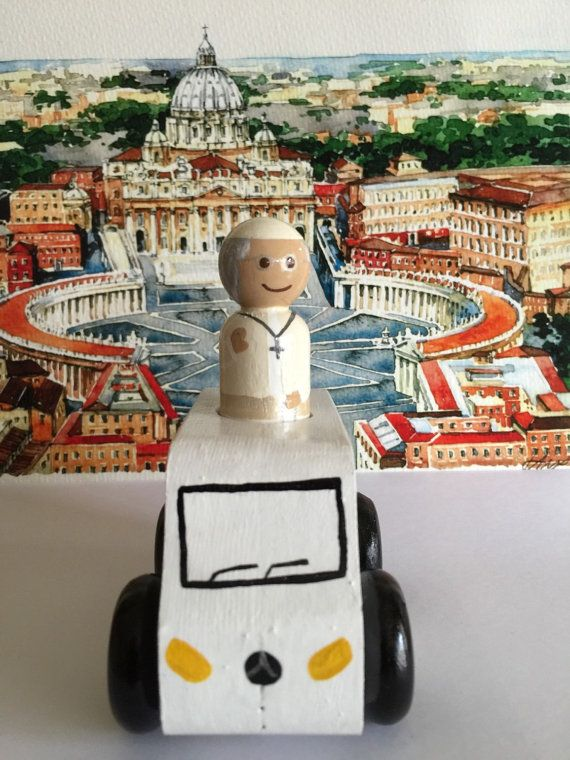 Pope Mobile by SaintlyHeart on Etsy