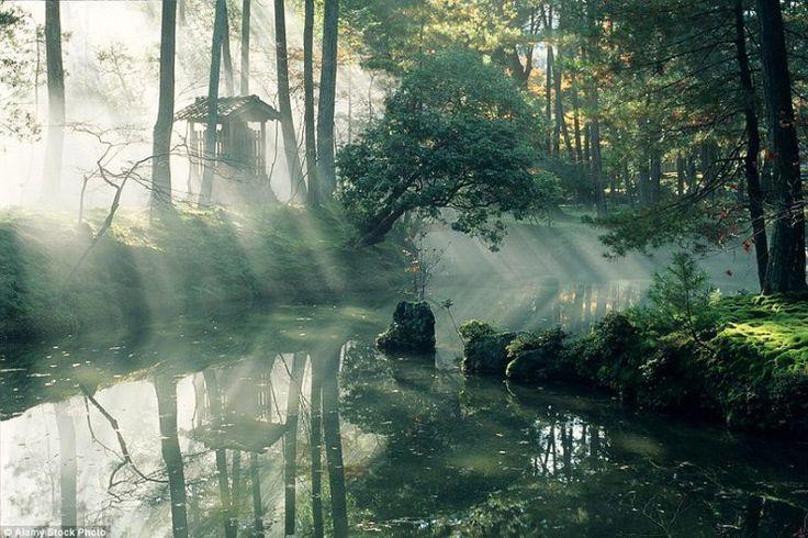 Лучшее время для посещения монастыря – середина июля, когда парк обильно зарастает мхами, и осень, когда желтеют и краснеют листья клёнов.
