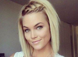 15 Süße Flechtfrisuren Für Kurzes Haar die Sie Lieben werden - Frisuren - #Die #Flechtfrisuren #frisuren #für #Haar