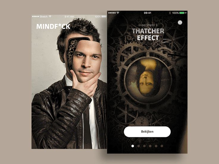 Mindfuck mobile app by Remco Bakker
