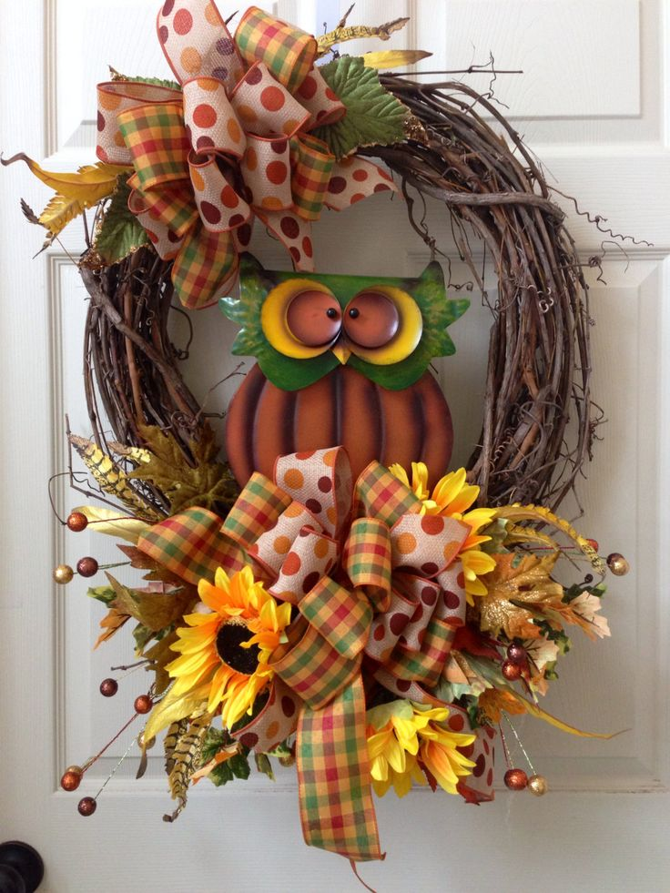 Fall Grapevine, Fall Wreath, Autumn, Wreath by WilliamsFloral on Etsy