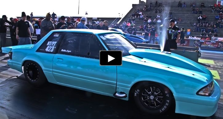 The Small Block ICEY Fox Body Mustang Is a Rocket | Ford Mustang