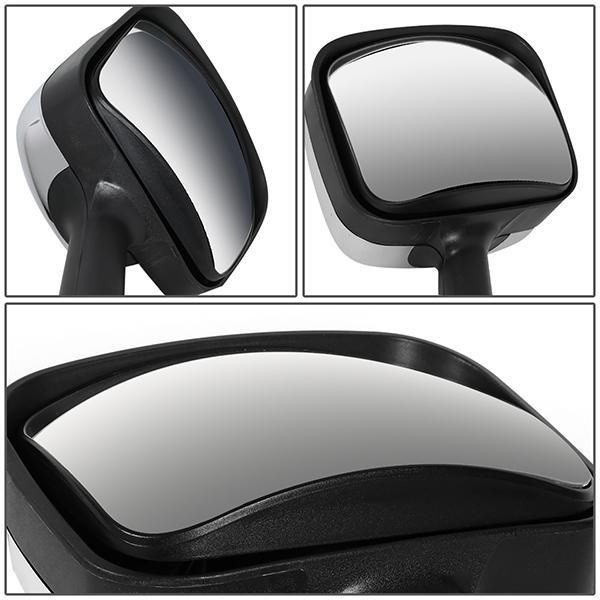 08 17 Freightliner Cascadia Pair Manual Side Hood Mirror W L Style Sequential Led Turn Signal In 2021 Cascadia Freightliner Cascadia Chevron Arrows