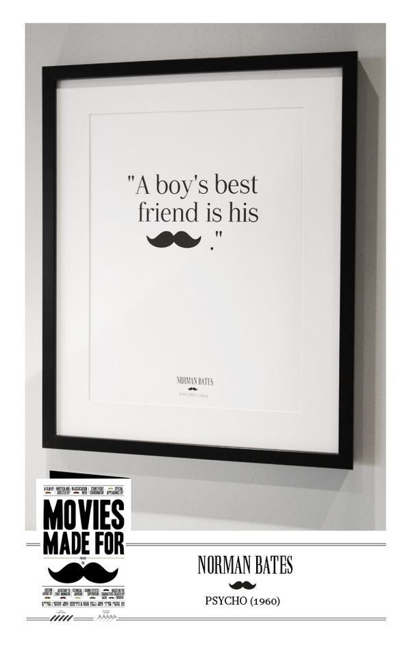 Mustache poster