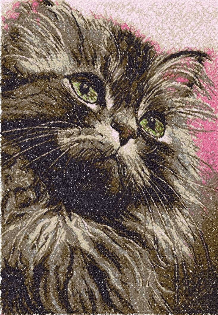 139 Best Embr Appl Cats Free Images On Pinterest Embroidery