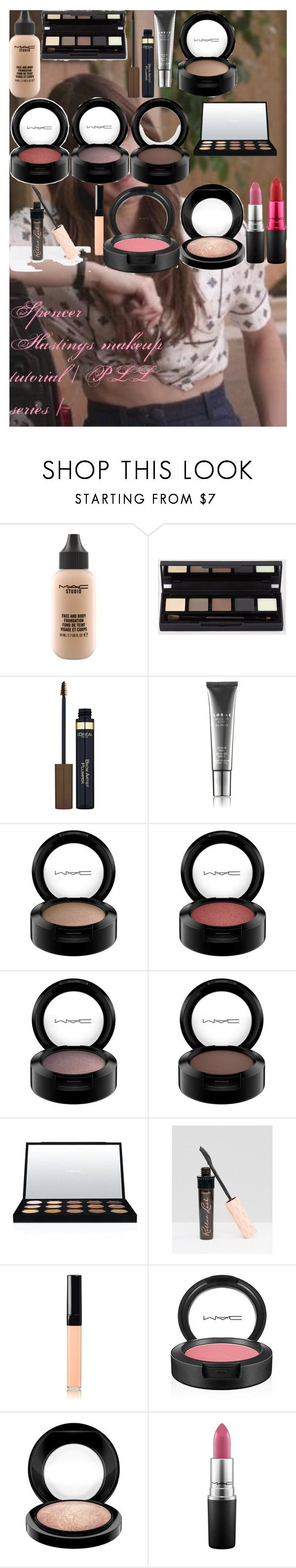 """""""Spencer Hastings makeup tutorial 
