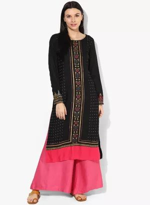 Ladies Kurtis - Buy Designer kurtis, Girls Kurtas, Kurtis Online at Rs 900  Buy from : http://www.jabong.com/women/clothing/kurtas-suit-sets/kurtas-kurtis/?source=topnav_women