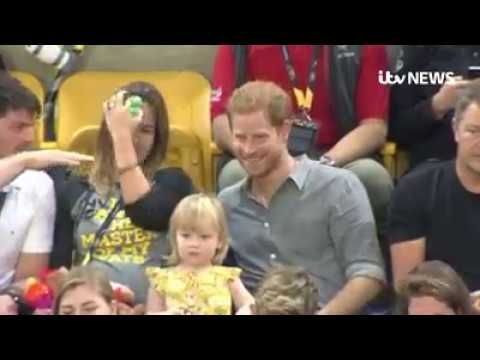 Toddler Steals Prince Harry's Popcorn | Isle of Wight Radio