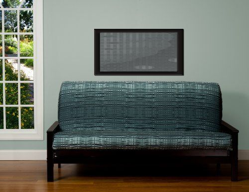 SIS Cover Interweave Futon Cover Fabric (Removable futon cover fabric only. Futon frame and futon mattress sold separately) - Queen by SIS Covers. $80.00. Your futon cover is important for several reasons. It provides protection for your mattress. It can be easily removed and cleaned. It makes for easy decorating--choose from hundreds of styles. It's economical--when you want to change your style, simply change your cover.. Three-sided zipper closure for easy removal.. Remo...