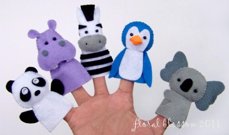 Zoo Friends Set 02 Felt Finger Puppets sewing pattern $4.95 on Craftsy at http://www.craftsy.com/pattern/sewing/toy/zoo-friends-set-02-felt-finger-puppets/527