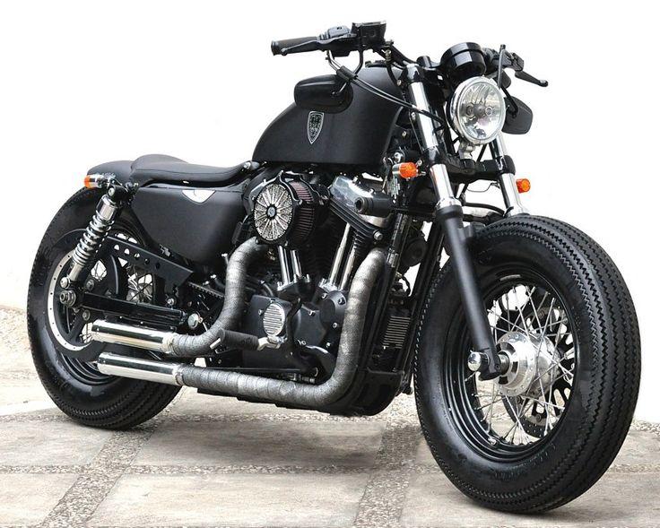 Studio Motor Custom Harley-Davidson Sportster Forty-Eight - autoevolution for Mobile
