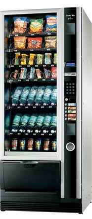 #Distributeur #automatique de #café, #boissons #chaudes, #boissons-froides, sandwiches, snacks et confiseries