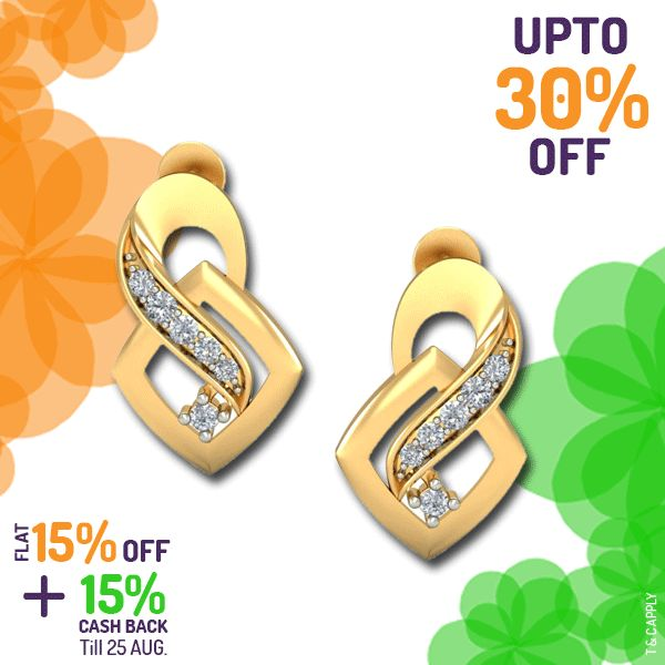 Crazy for #earrings? Get them at up to 30% off. Offers end tomorrow 25th Aug. Hurry!