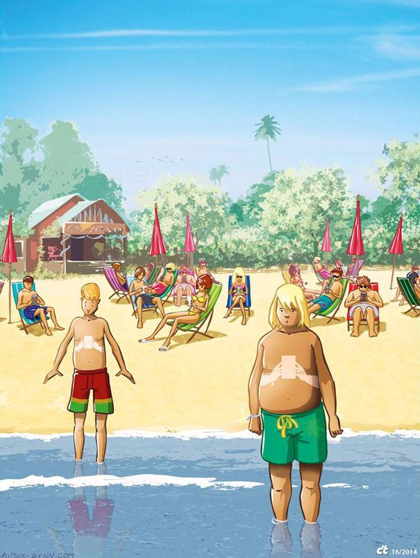 50 Illustrations satiriques sur les Réseaux sociaux (7)