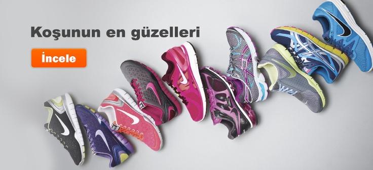 En yeni Nike ve Asics koşu ayakkabıları için CityShop