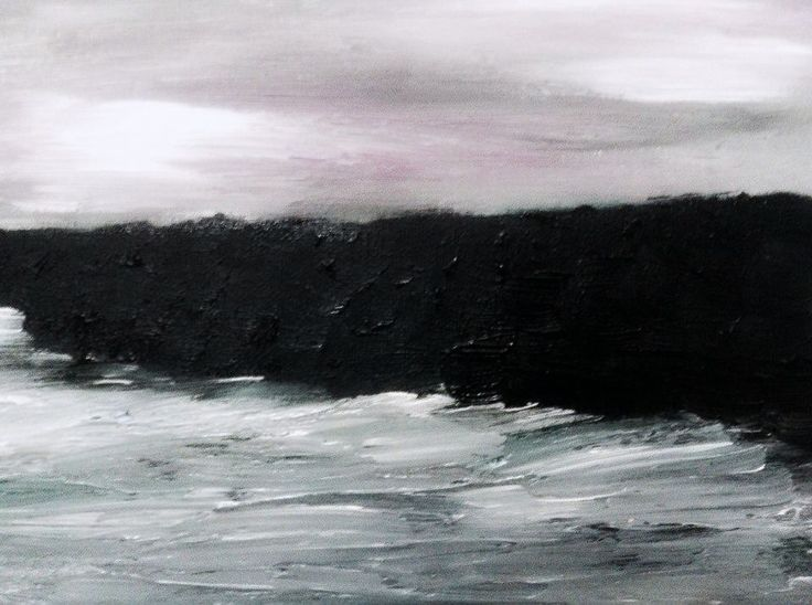 "Juliet Jardin | ""Surf"" 2014, oil on canvas"