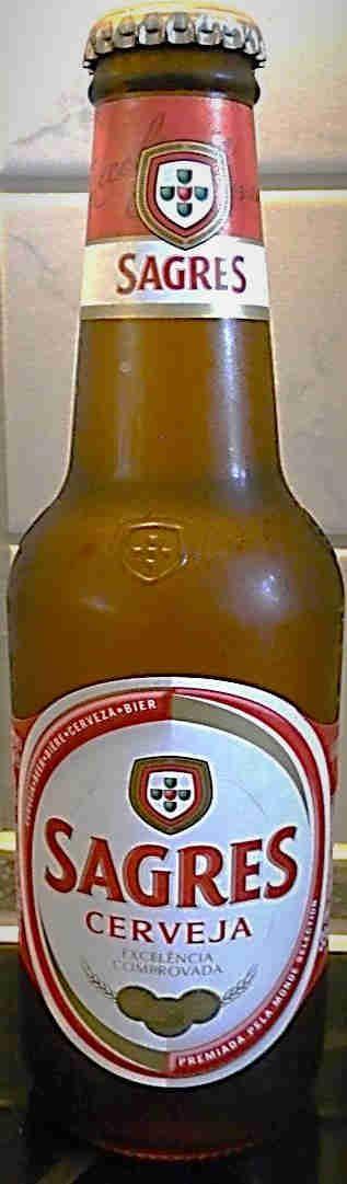 Sagres Bier +-