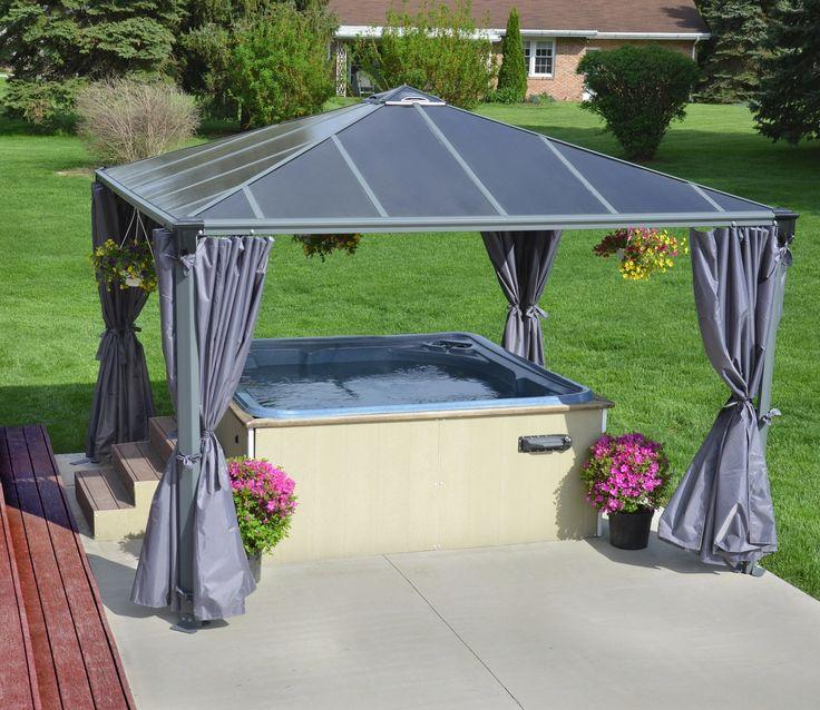 Hot Tub Metal Canopy